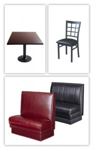 Restaurant furniture options